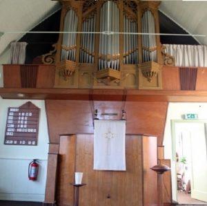 Kerkdienst Geref. Kerk. ds J.Arensman, Drachten @ Gereformeerde kerk